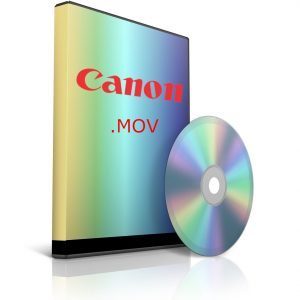canon .mov video footages data recovery software
